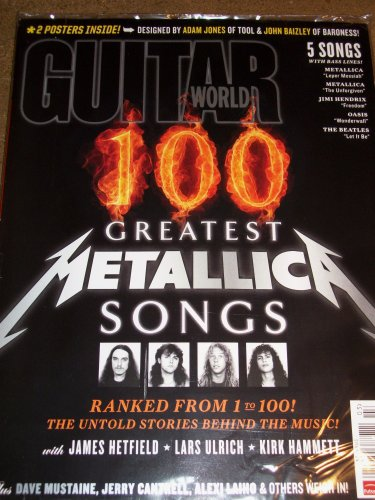 Guitar World March 2011 100 Greatest Metallica Songs