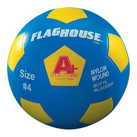 ボールゴムFLAGHOUSE A +シリーズユースサッカーボール – サイズ# 4 B001VXCXUK