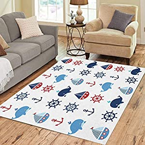 51E-Zdd-SfL._SS300_ Best Nautical Rugs and Nautical Area Rugs