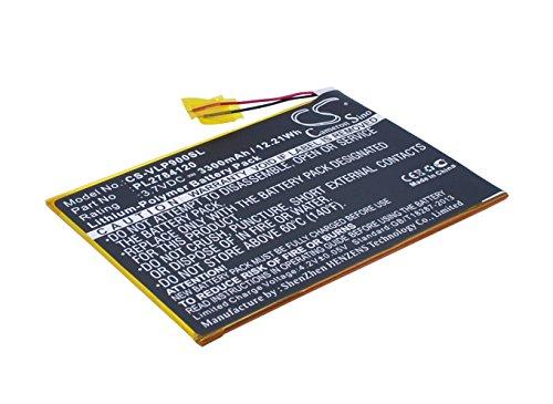 Replacement Battery for Visual Land ME-9Q Prestige Elite 9Q 9 PL2784120 (Visual 9q Lands)