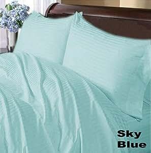 Scala S�bana encimera con 2 fundas de almohada, algodón egípcio, UK Super King Size