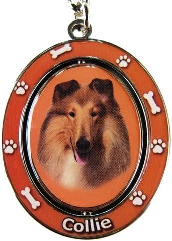 E&S Pets Collie Clave Cadena Spinning Mascota Clave Cadenas Doble ...