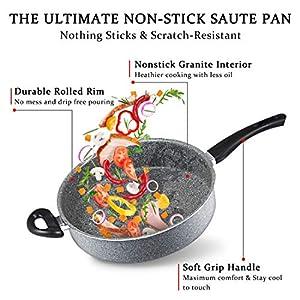 MICHELANGELO Frying Pans Nonstick