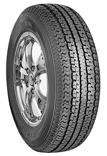 Trailer King ST Radial Trailer Tire – 225/75R15 117L (Rims Not Included)