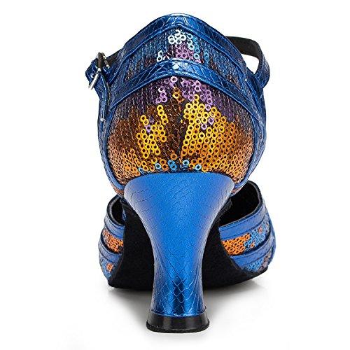 35 7cm bal Blue de Salle Miyoopark femme bleu heel w8qY1w7x