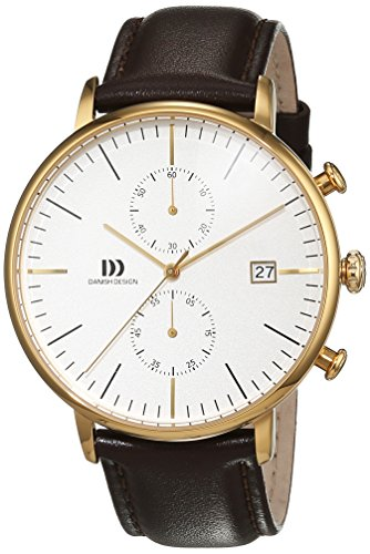 Danish Design Men's IQ45Q975 Brown/Silver Stainless Steel Watch ()