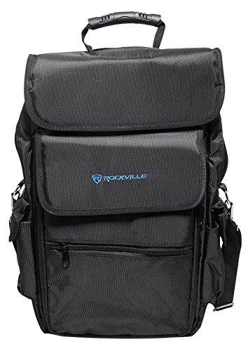 Rockville Carry Bag Backpack Case For Arturia MicroBrute Keyboard Controller by Rockville