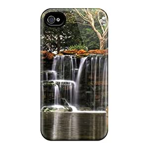 Favorcase Premium Protective Hard Cases Samsung Galaxy Note3 - Nice Design - Waterfall Through Rock Plates Hdr