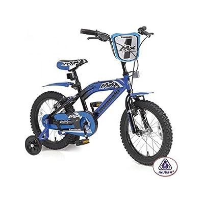 Injusa–Vélo kawasaki mX 16'' bleu