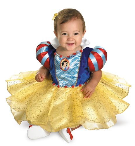 SNOW WHITE INFANT Costume, Multi, 12-18 Months (Halloween Costume Disney Princess)