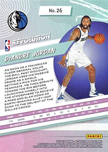 Amazon.com: 2018-19 Panini Revolution Basketball #26 DeAndre Jordan Dallas Mavericks Official NBA Trading Card By Panini: Collectibles & Fine Art