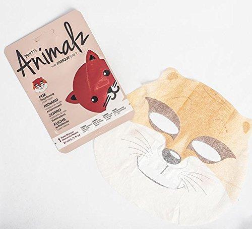 Amazon.com : masque Bar Pretty Animalz Sheet Mask, CAT Engergizing Full Face Mask, Single Pack : Beauty