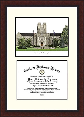 Campus Images VA999LV Virginia Tech Legacy Scholar Diploma Frame from Campus Images
