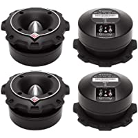 4) New Rockford Fosgate PP4-T 1.5 400 Watt Heavy Duty Car Power Bullet Tweeters