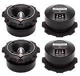 4) New Rockford Fosgate PP4-T 1.5'' 400 Watt Heavy Duty Car Power Bullet Tweeters