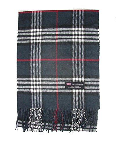 Dark Blue_(US Seller)New Fashion Scarf Scotland Made Warm Wool - A91
