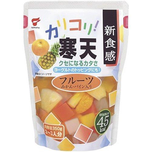 Taimatsushokuhin Karikori agar fruit (pouch) 350gX12 pieces