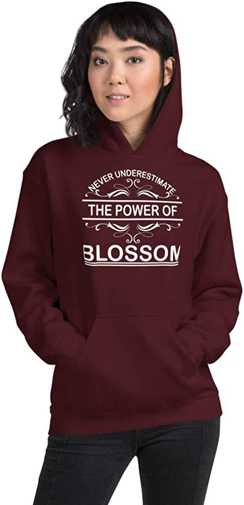Never Underestimate The Power of Blossom PF Maroon