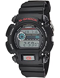 Men's G-shock DW9052-1V Shock Resistant Black Resin Sport...