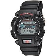 Casio Men's ' G-Shock Quartz Resin Sport Watch, Color:Black (Model: DW9052-1V