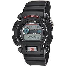 Casio Men's 'G-Shock' Quartz Resin Sport Watch, Color:Black (Model: DW9052-1V)
