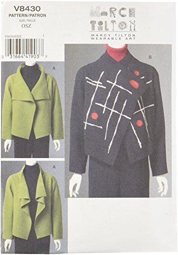Vogue Patterns V8430 Misses' Jacket