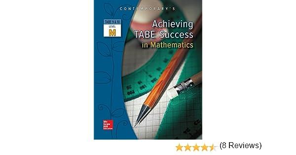 Achieving TABE Success In Mathematics, Level M Workbook (Achieving ...