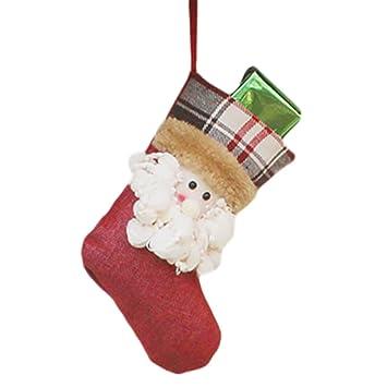 Amazon Com Exquisite Christmas Hanging Socks Candy Gift Bag