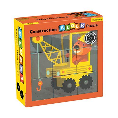 Mudpuppy Construction Block Puzzle