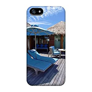 Perfect Fit PfO5697UXEz Exotic Ocean Bungalows Case For Iphone - 5/5s