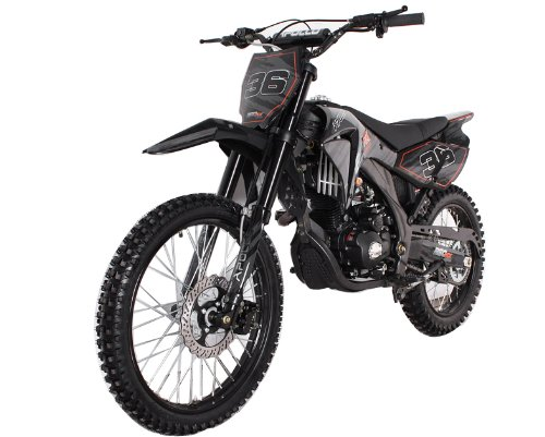 250cc Teen/ Adult Dirt Bike (Black)