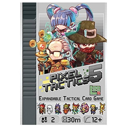 Pixel Tactics 5 Card Game - From The Usa Stores Ship Internationally That