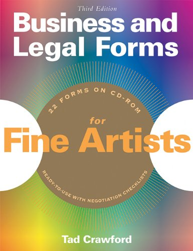 Pdf Law Business And Legal Forms for Fine Artists (3rd Edition)