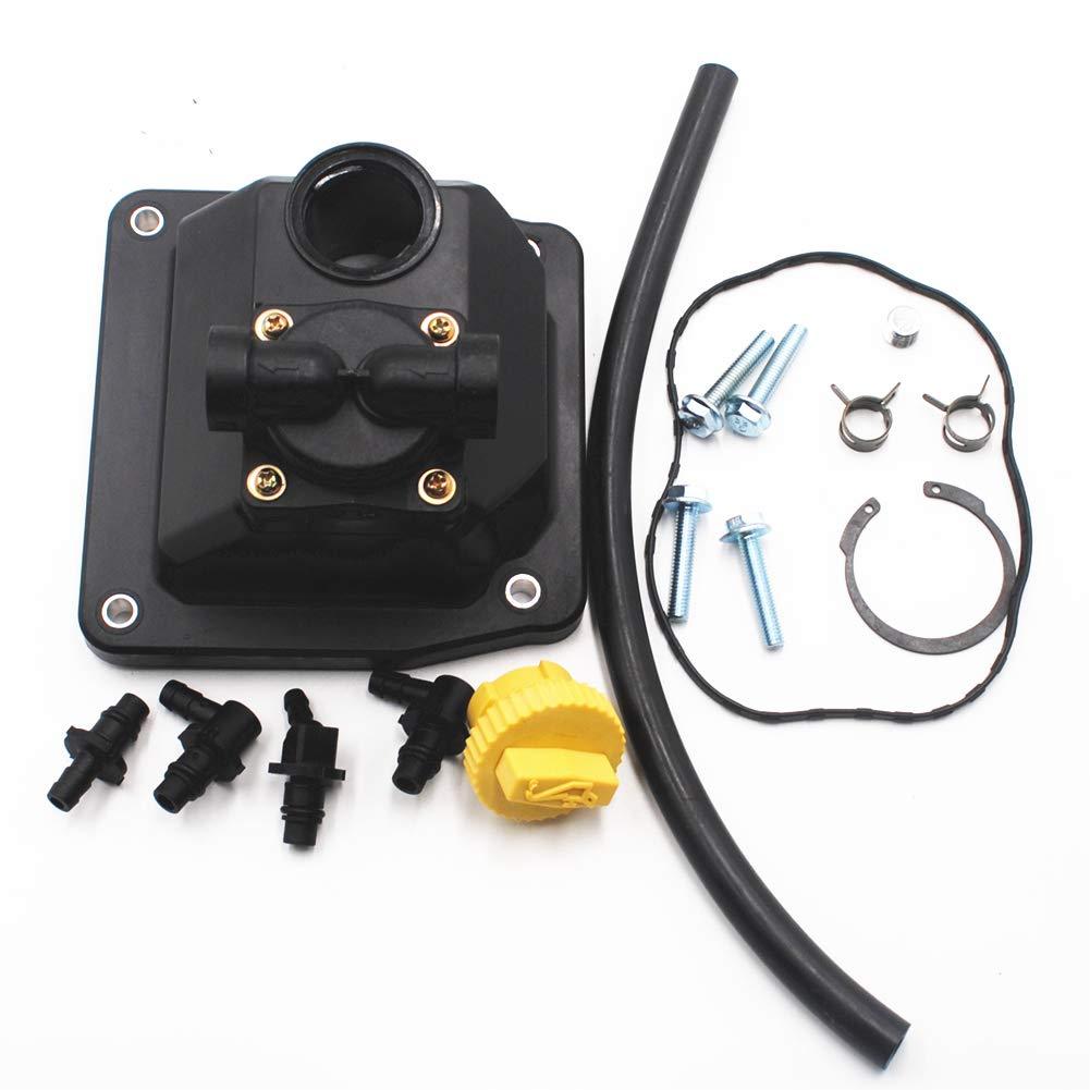 Autu Parts 2455910-S Fuel Pump Kit for Kohler CH20-64535 CH18-62561 CH18GS-62608 CH18S-62577 CH25GS-68617 CH22S-66528 CH730-0151 25HP CH18-CH25 CH620-CH752 ECH630-ECH749 Replace 24 559 08-S