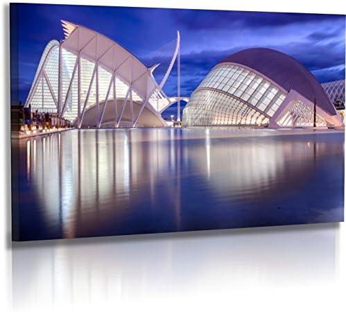 Fotoatelier Dirk Haas Premium Pared Imágenes XXL – Arquitectura – Imágenes – España – Valencia – Museo Artes Cien cias (fah348hdr): Amazon.es: Juguetes y juegos