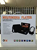 QFX PD-109 9'' Multimedia Player With Game Function & Swivel Display USB/SD Card Reader