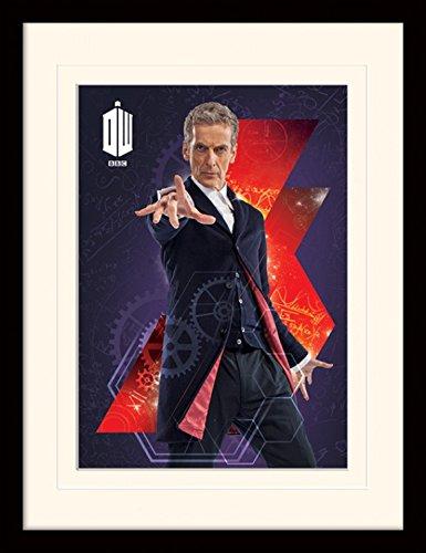 1art1 101550 Doctor Who - 12th Doctor Gerahmtes Poster Für Fans Und Sammler 40 x 30 cm
