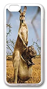ICORER iPhone 6 Case Kangaroo Hippo Protective Designer Apple iPhone 6 Case and Cover TPU Rubber Transparent