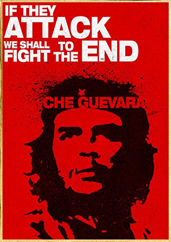 che guevara by elcrazy HD Wallpaper on Satin Paper ON HI QUALITY 36X24 INCHES: Amazon.in: Home & Kitchen