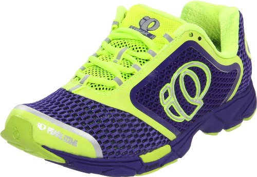 Pearl iZUMi Women's Streak II Running Shoe,Dahlia/Screaming Yellow,7.5 D US