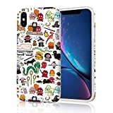 i phone 5 case gems - Unique Designer Slim Fit Phone Case Cover for Apple iPhone X (2017)/ iPhone Xs (2018) - Harry Potter Doodle