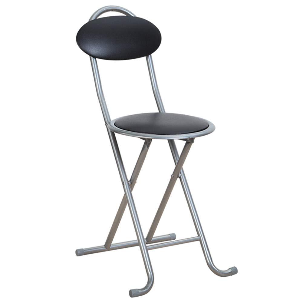 Amazing Amazon Com Cushioned Padded Folding Stool With Comfort Back Ibusinesslaw Wood Chair Design Ideas Ibusinesslaworg