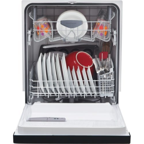 Frigidaire FGBD2434PF 24'' Stainless Steel Full Console Dishwasher - Energy Star