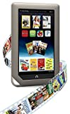 """Barnes & Noble Nook Tablet 8GB Touchscreen 7"""" Google Play w/ Chrome Browser WiFi Tablet eBook Reader - Android - Dual-Core 1 GHz processor w/ Expandable Memory and Extra-long Battery Life BNTV250-8GB-GRY"""