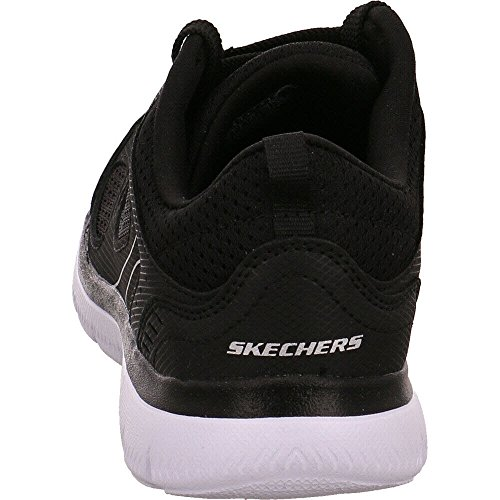 UK Skechers Blackwhite Size 40 EU 12982 7 BKW xCHpq