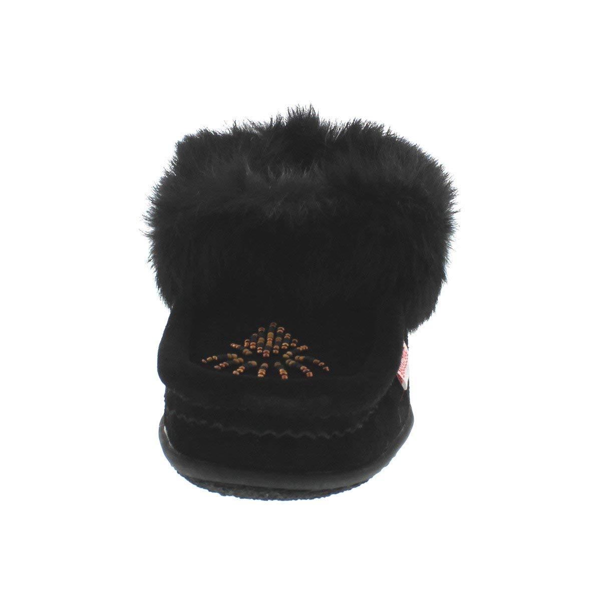 SoftMoc Womens Cute 4 Rabbit Fur Moccasin
