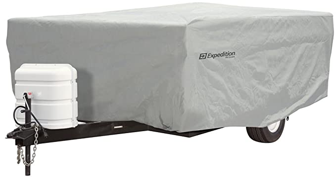 Expedition by Eevelle Pop Up Trailer Cover - fits 10'-12' Long Trailers -  156