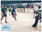 Ice Castles original 11x14 lobby card Robby Benson ice hockey scene