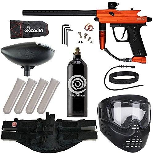 Action Village Azodin Epic Best Value Paintball Gun Package Kit (Kaos 2) (Orange)