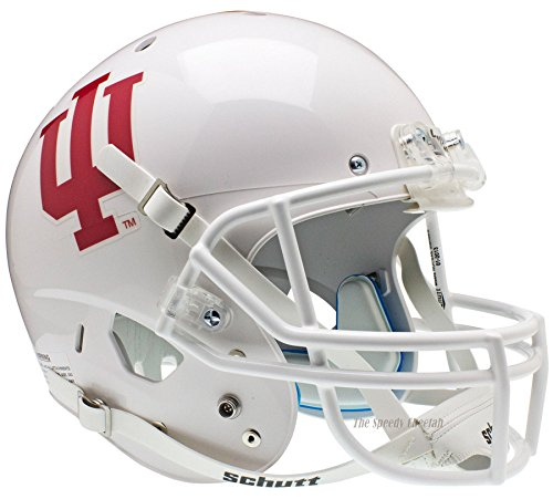 Indiana Hoosiers White Officially Licensed Full Size XP Replica Football Helmet